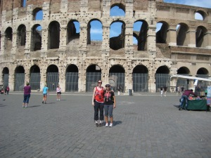 That would be the Roman colosseum