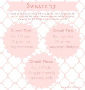 sweaty 75